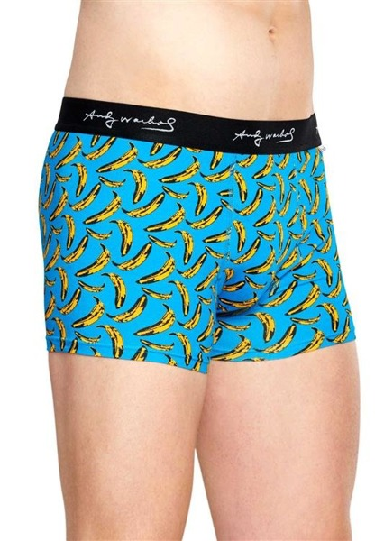 Bielizna męska Happy Socks x Andy Warhol Trunk AWBAN87-6000