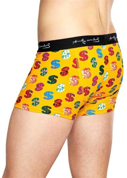 Bielizna męska Happy Socks x Andy Warhol Trunk AWDOL87-2000