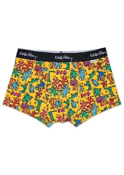 Bielizna męska Happy Socks x Keith Haring Trunk KEH87-2000