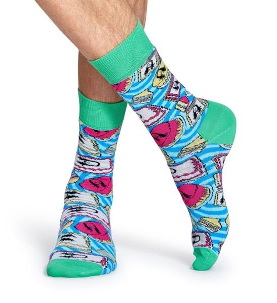 Giftbox (3-pak) skarpetki Steve Aoki x Happy Socks XAOK08-2000