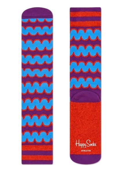 Skarpetki ATHLETIC Happy Socks ATSQU27-4000