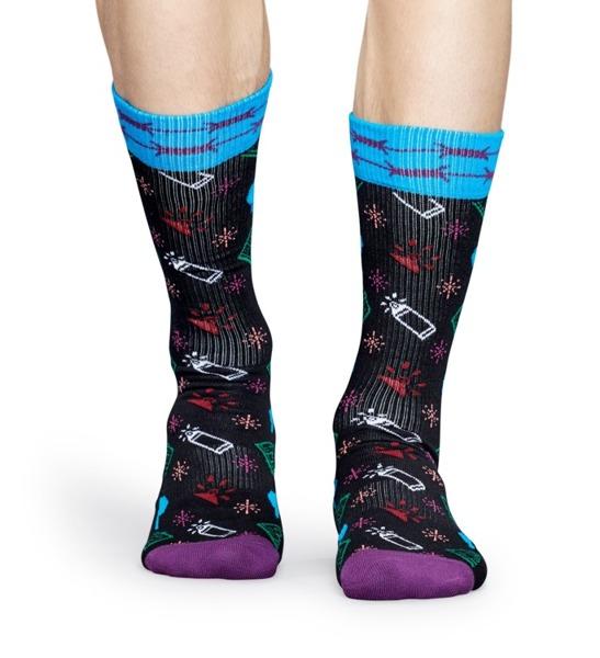 Skarpetki ATHLETIC Happy Socks x Montana ATMON27-9000