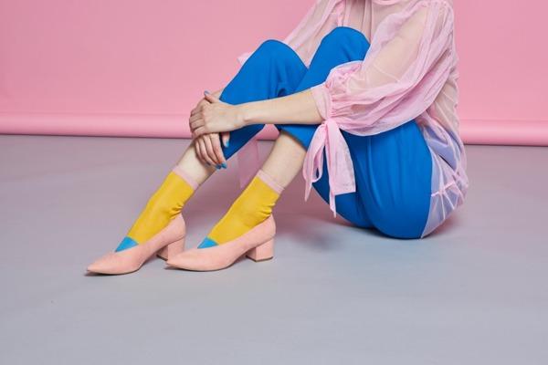 Skarpetki HYSTERIA Liza Sparkle Ankle Sock (SISLIZ12-2001)
