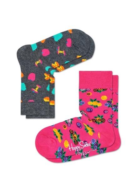 Skarpetki dziecięce (2-pak) Happy Socks KAPP02-9000