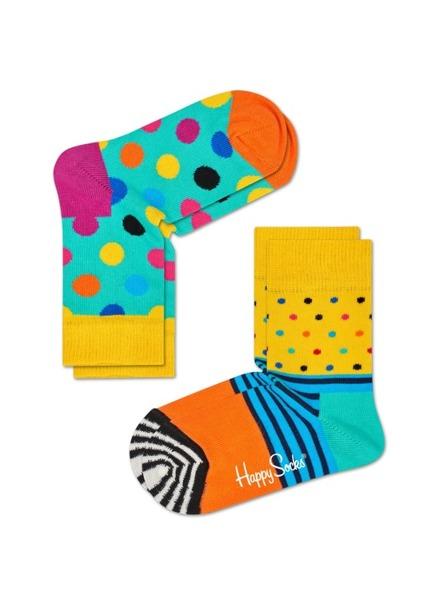 Skarpetki dziecięce (2-pak) Happy Socks KBDO02-2000
