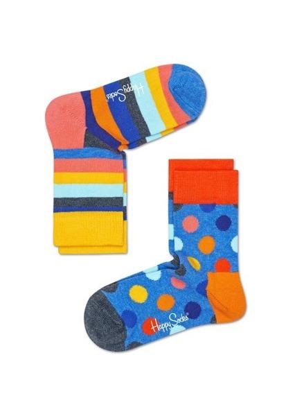 Skarpetki dziecięce (2-pak) Happy Socks KBDO02-6003