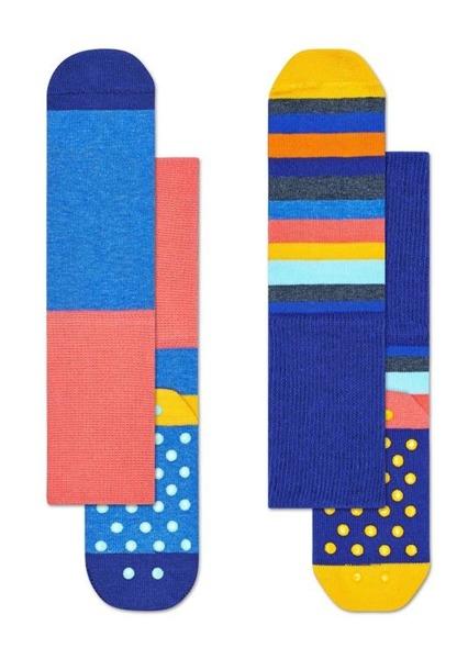 Skarpetki dziecięce antypoślizgowe (2-pak) Happy Socks KSTR19-2000