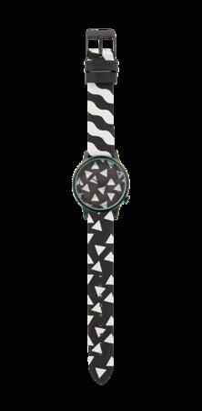 Zegarek Happy Socks x Komono - Estelle Black&White (KOM-W2403)