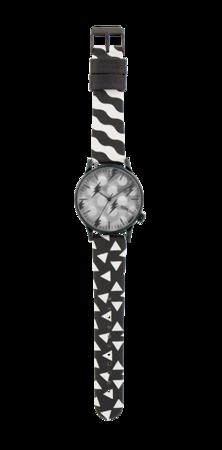 Zegarek Happy Socks x Komono - Winston Black&White (KOM-W2165)